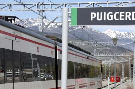 Trenes a Puigcerdà – La Cerdanya