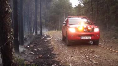 El fuego de Bellver de Cerdanya afecta a siete hectáreas