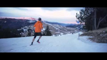 Grifone Dark Polar Race. Snow running en La Molina.
