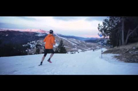 Grifone Dark Polar Race. Snow running en La Molina.
