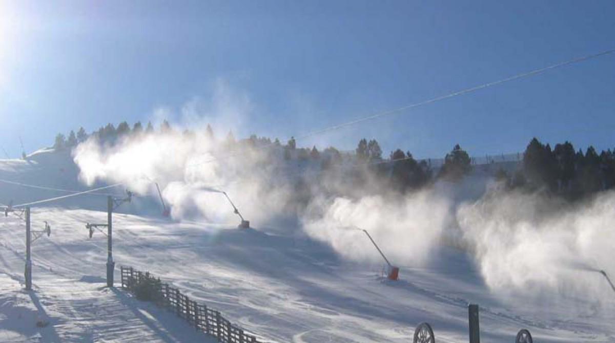 Estaciones de esqui en La Cerdanya