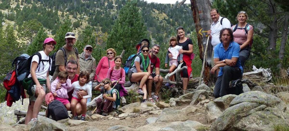 La Cerdanya termina las excursiones de Senderismo y salud con 300 participantes