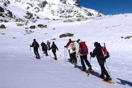 excursion raquetas de nieve malniu - Cerdanya
