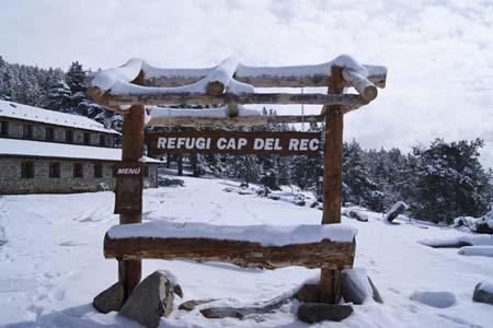 excursion Lles de Cerdanya Raquetas de nieve en familia