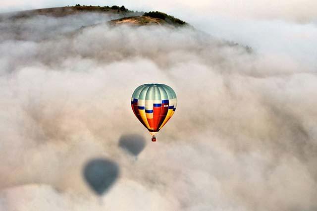 vuelo en globo en la Cerdanya