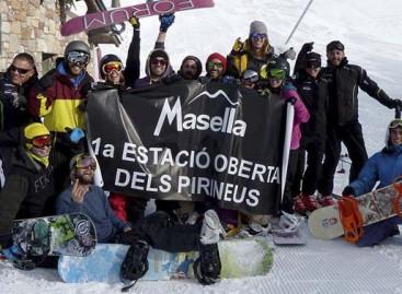 Masella primera estación de la peninsula en abrir la temporada 2015-2016