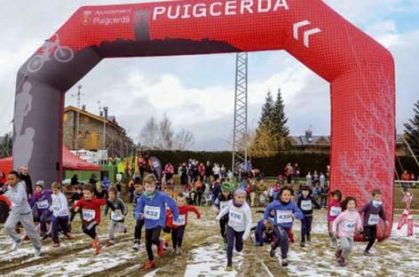 Pruebas deportivas solidarias en Puigcerdà contra el cáncer infantil
